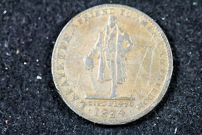 1834 - Walsh's General Store Hard Times Token HTT - 217!1  #H17921