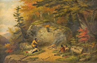 """oil painting handpainted on canvas""""Autumn in West Canada"""" NO3393"""