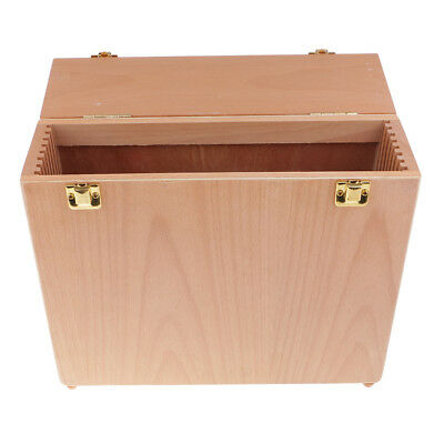 Wooden Paintings Canvas Carrier Accessories Tools Carrying Case Storage Box