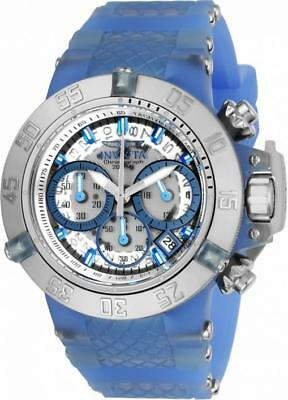 Invicta Sunaqua 24376 Women's Round Chronograph Date Analog Silicone Watch
