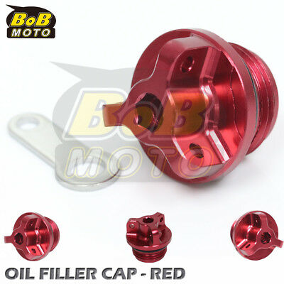 Red Racing Plug Oil Filler Cap for Ducati Monster 400 600 620 750 800 i.e.