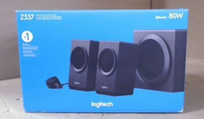 NEW Logitech Z337 2.1 Channel Computer Speaker System with Bluetooth $137