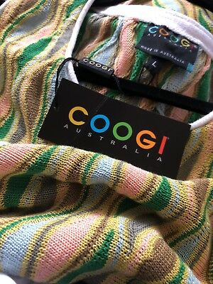 Vintage Mens Coogi Vest NEW OLD STOCK WITH TAGS