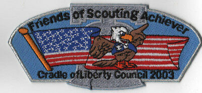 Friends of Scouting Achiever Cradle of Liberty Council 2003 CSP [LMTC1927]