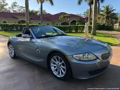 2007 Z4 3.0si 2007 BMW Z4 3.0si Automatic 2-Door Convertible