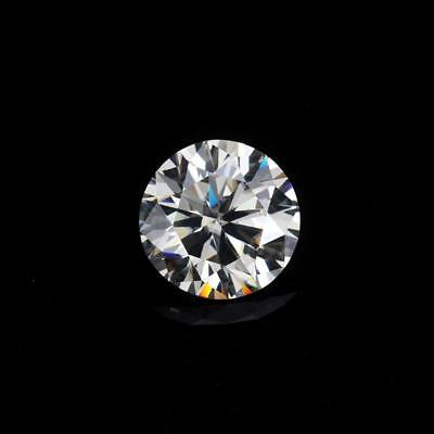 1.75 - 2.00 CT Intense Grey Round Diamond Cut Real Moissanite 4 For Ring Jewelry