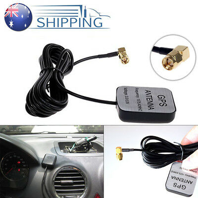 Antenna Active Navigation Unit Extension for Plug GPS Head Cable Aerial Male SMA