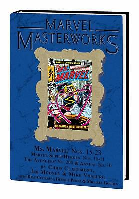MARVEL MASTERWORKS MS MARVEL HC VOL 02 DM VAR ED 234 New Free Shipping