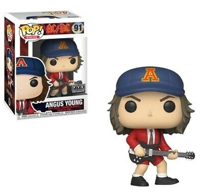 Funko Pop! Rocks - Music - AC/DC - ANGUS YOUNG #91 FYE EXCLUSIVE Pre-Order!