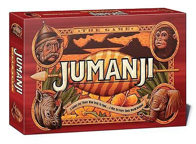 Jumanji Original Board Game For Family Fun Time Or Party Birthday Playset Gift