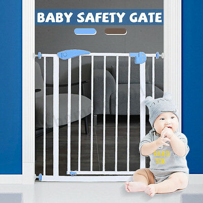 Extra Tall Walk Thru Safety Gate Baby Indoor Security Pet Dog Door Gates Fence