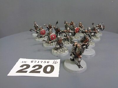 Warhammer Middle Earth  Lord of the Rings Dwarf Warriors 220