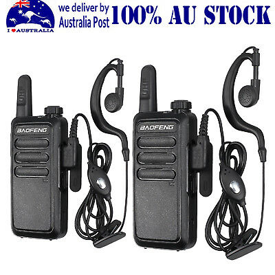 Baofeng BF-R5 Mini Walkie Talkie with Headset 5W power 400-470Mhz Frequency