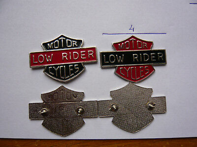 lot 2 big pin s MOTO LOW RIDER different  neuf