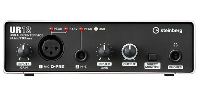 Steinberg UR12 Interface Soundkarte Cubase