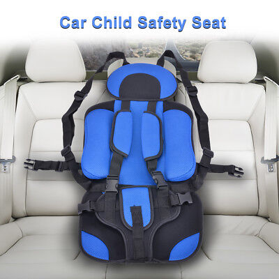 Child Baby Safety Car Seat Kids Portable Chair With Protectction Pad Blue PS351