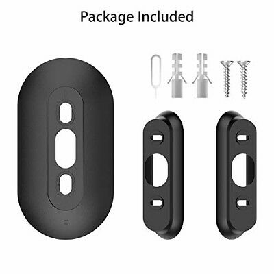 Video Doorbell Entrance Door Ring Visual Chime 35 Degree Angle Wall Mount Black
