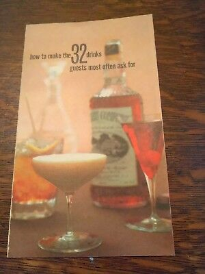 Southern Comfort How To Make The 32 Drinks Most Guests Ask For, Lot of 2