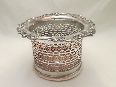 A Good Large Old Sheffield Plated Coaster c1820