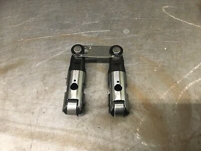 """BAM 2004-16 Sbc Solid Roller .904"""" Tie Bar Lifters *.180"""" Offset*"""