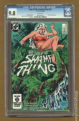 Swamp Thing (2nd Series) #25 1984 CGC 9.8 0972969010