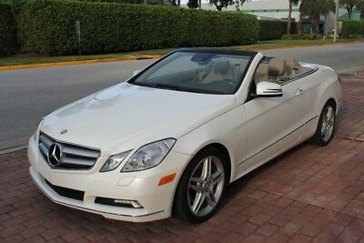 2011 Mercedes-Benz E-Class E350 CONVERTIBLE, PREMIUM 2 PKG, WOOD TRIM PKG, AP 2011 Mercedes-Benz E-Class E 350 64,904 Miles Diamond White Metallic Convertible