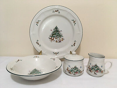 Woodland Christmas 5-piece Completer Set; Ming Pao