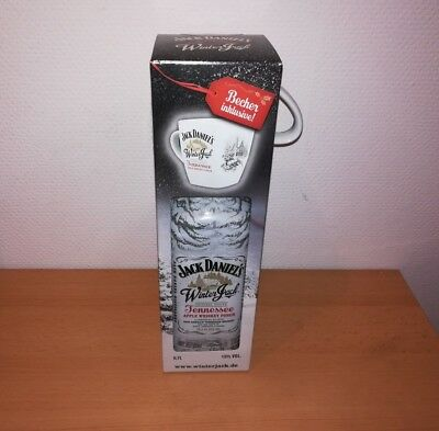 Jack Daniels Winter Jack Tennessee Apple Whisky Punch Tasse Geschenkbox NEU OVP