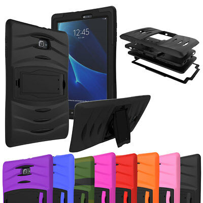 Heavy Shockproof Military Stand Case Cover For Samsung Galaxy Tab A 10.1 8.0 7.0