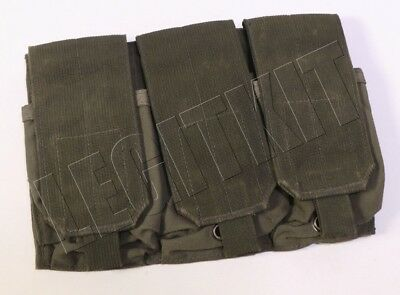 Eagle Industries RLCS (3x2) Triple Magazine Pouch Ranger Green MOLLE SWCC NSW