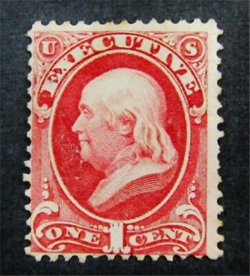 nystamps US Official Stamp # O10 Mint $850 Signed