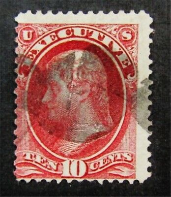 nystamps US Official Stamp # O14 Used $650