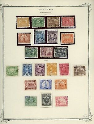 GUATEMALA Album Page Lot #SPEC11 - SEE SCAN - $$$