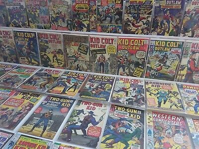 ALL Marvel Western Silver Comic Lot Two-Gun Kid Colt Outlaw Kirby Art VINTAGE