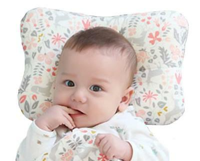 Baby Pillow for Newborn Breathable 3D Air Mesh Organic Cotton