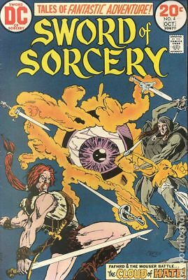 Sword of Sorcery #4 1973 VG+ 4.5 Stock Image Low Grade