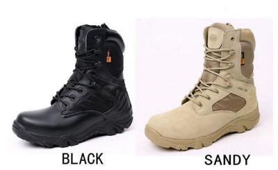 DELTA 511 Military Tactical Ankle BootsDesert Combat Army Hiking Shoes &&.