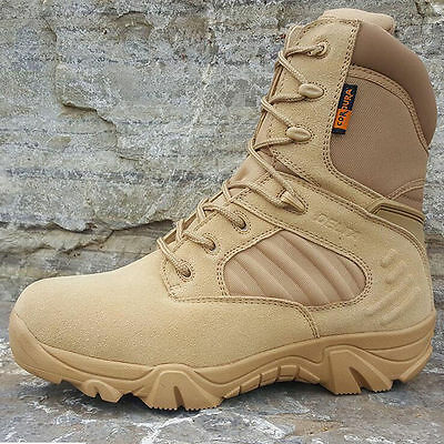 DELTA 511 Military Tactical Ankle Boots Cordura Desert Combat Army Hiking ShoesA