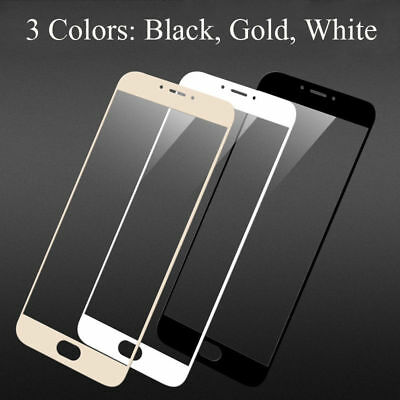 Full Cover Screen Protector Tempered Glass Film For Meizu 3S 5S Note 5 Note 3
