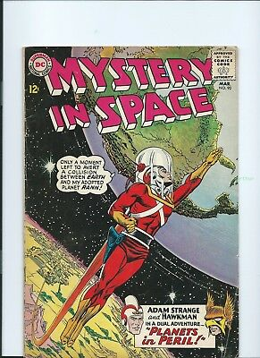 Mystery in Space #90 (Mar 1964, DC) VG+
