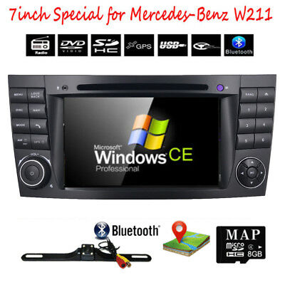Autoradio Passend Für Mercedes W211 W219 Navi Gps Bluetooth Dvd Usb Sd Mp3