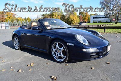 2006 Porsche 911 Carrera 2006 Blue Convertible 6 Speed $12,000 Stereo Fast Performance