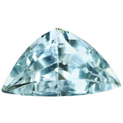 2.13Ct Outstanding Trillion Cut 12 x 7 mm 100% Natural Top Luster Aquamarine