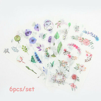 Laptop Diary Decor Scrapbooking Natural's Stickers Label Sticker DIY Craft