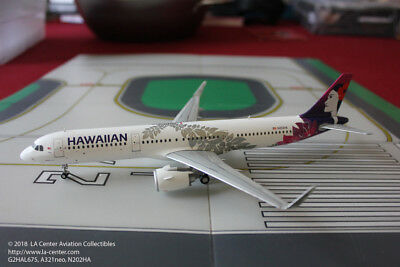 Gemini Jets Hawaiian Airlines Airbus A321neo Current Color Model 1:200