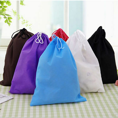 Waterproof Nonwoven Drawstring Bag Travel Wash Pouch Shoe Clothes Storage Bag Ng