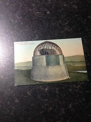 Vintage Postcard Beheading Stone, Gowling Hill,STIRLING