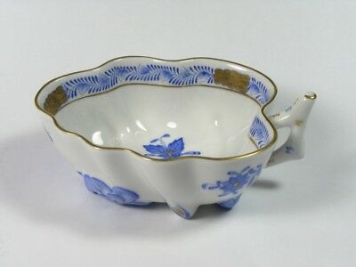 Herend Hungarian Porcelain Pickle Dish - Chinese Bouquet