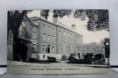 Rhode Island RI Providence Brown University Faunce Hall Postcard Old Vintage PC