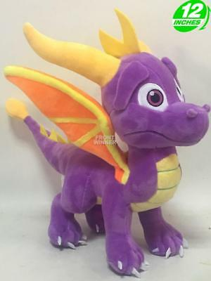 "NEW RELEASE 12"" Spyro The Dragon Plush Stuffed Doll Game Anime Manga SDPL0001"
